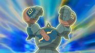 Ridley Golurk Heavy Slam