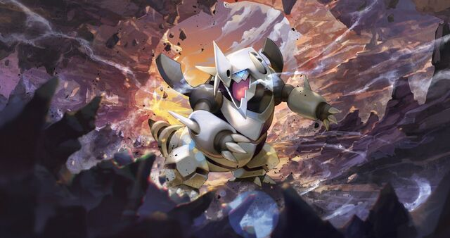 File:Aggron Pokemon XY Primal Clash.jpg