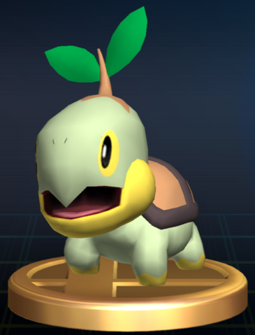 File:Turtwig trophy SSBB.png