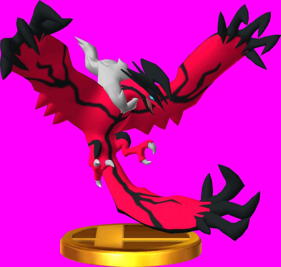 File:Yveltal trophy SSB3DS.png