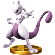Mewtwo (fighter) trophy SSBWU