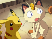 Pikachu and Meowth (clones)