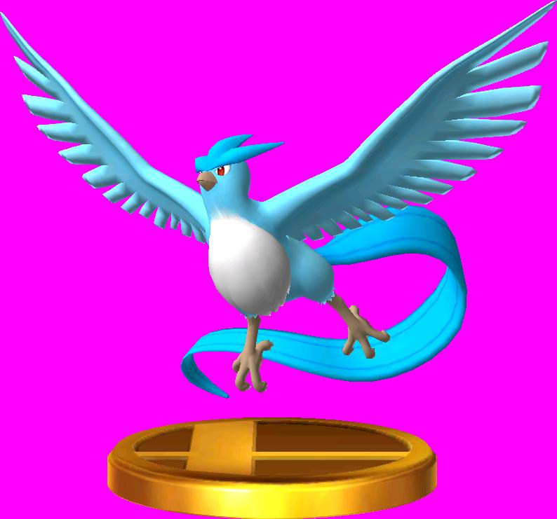 Articuno trophy SSB3DS