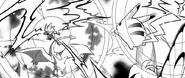 Lance electrocuted by Megavolt