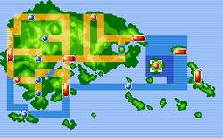 Sootopolis City Map