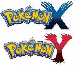 Pokémon X and Pokémon Y Logo's