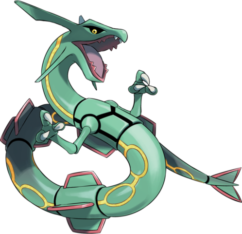 Rayquaza Pok 233 Mon Wiki Fandom Powered By Wikia