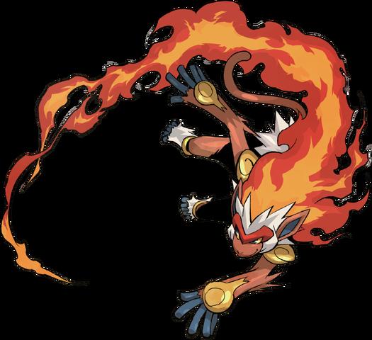 File:392Infernape Pokemon Conquest.png