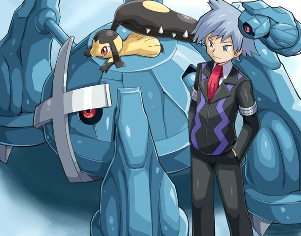 File:Steven Stone, Metagross, Mawile and Beldum.jpg