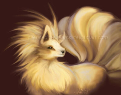 The Fire Pokemon Ninetails