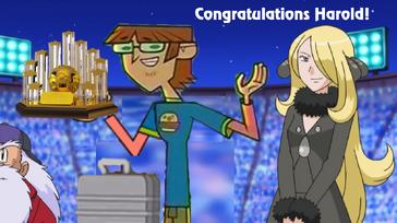 Pokemon Congratulations Harold!