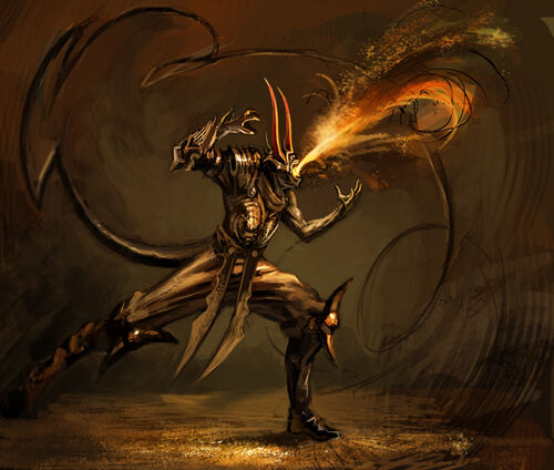 Fire Demon by maxetormer
