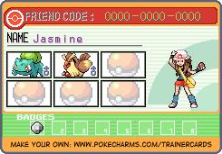 Jasmine's Trainer Card, Chapt 4