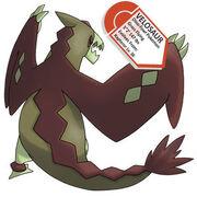Starter Evolution Velosaur by PokePages