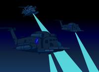 ACTAMC choppers arrive