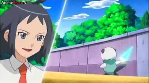 Cheren Vs Ash Pokemon Best Wishes Season 2 Episode N REAL NOT AMV Full Battle!