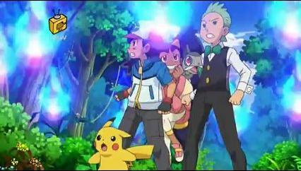 Pokemon BW Rival Destinies Episode 48 Meloetta and the Undersea Temple!