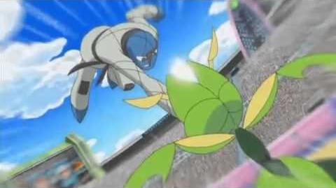 Ash V.S Stephan - Pokemon League Battle - Part 3