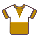 File:Shirt F Gold White.png