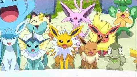 video pikachu movie short 16 pikachu and eevee friends