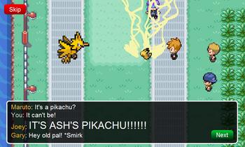 Route 17 Pikachu