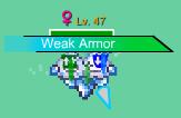Weak armor