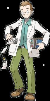 298px-HeartGold SoulSilver Professor Elm
