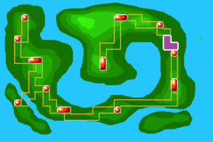 Map Route 6X