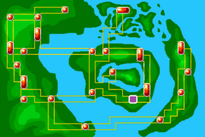 Map Thunder Underroute