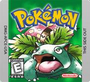 Pokemon green gameboy lable by alex 553-d5rw8z4