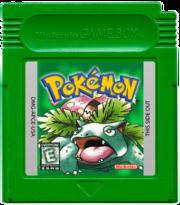 Pokemon green gameboy cartridge by alex 553-d5s94lq