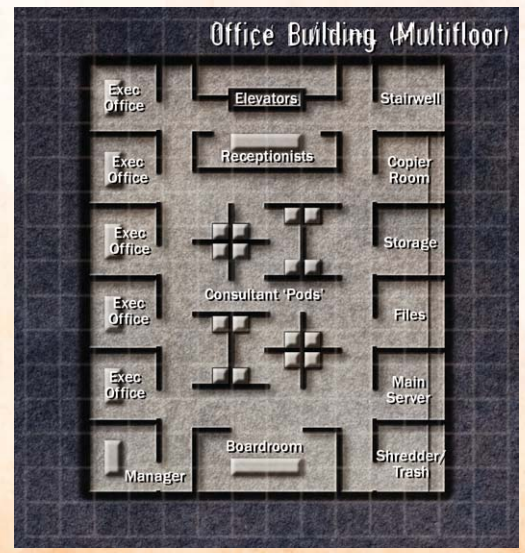 Office Building Floorplan