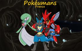 Poster Pokeumains 1