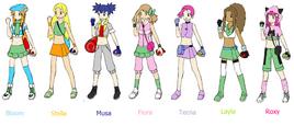 Winx Pokemon by VenusRulerOfArt