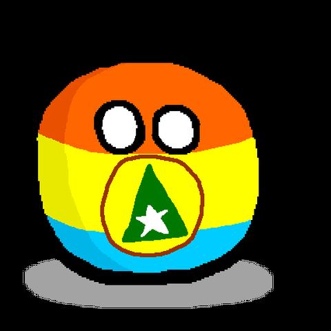 Cabindaball con su bandera separatista