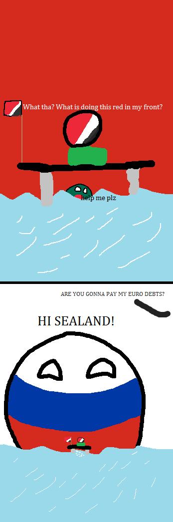 Image - Sealand and Russia.png | Polandball Wiki | FANDOM ...