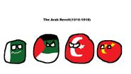 The Arab revolt Polandball