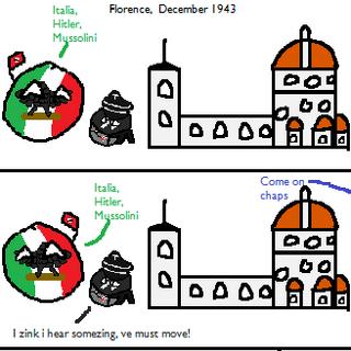 The Nazi Retreat from Italia Part 2