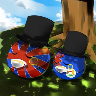 tea time with Papa