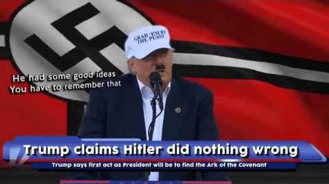 Trump claims Hitler did nothing wrong