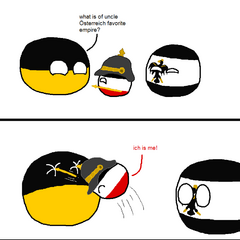 How Austria-Hungaryball is blind