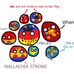 Regions of Romaniaball