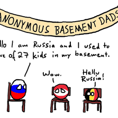 Anonymous basement dads