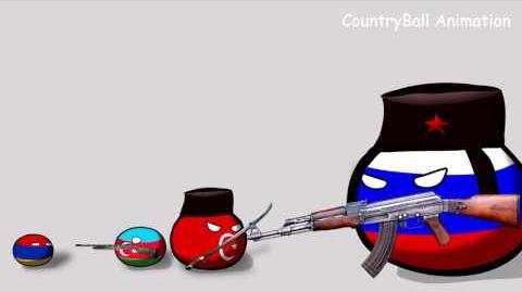 Kebab! Don't even try it - Countryballs Animation