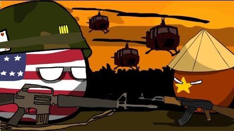 Polandball Animation - The Vietnam War - Ride of the Valkyries