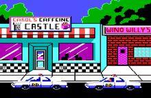 Carols Caffeine Castle Exterior