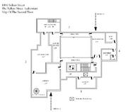 The Sellers Street Auditorium Second Floor Map