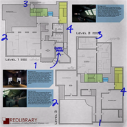Red Library Offices Map