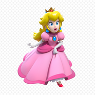 Peach 3d world