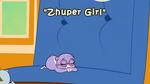 Zhuper Girl title card